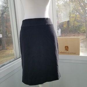 Banana Republic Black Stretch Pencil Skirt